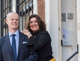Ruud en Betty Reijers van Piunte Juwelier centrumondernemers